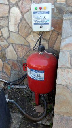 Dalgıç Pompa Kurulumu-derin-kuyu-dalgicinin-hidrafor-tanki-ve-kumanda-panosu